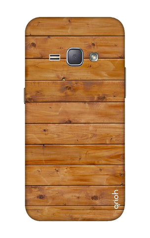 Natural Wood Samsung J1 2016 Cases & Covers Online