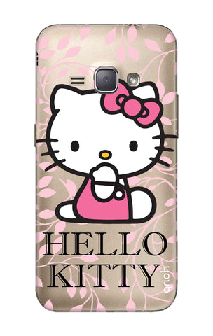 Hello Kitty Floral Samsung J1 2016 Cases & Covers Online