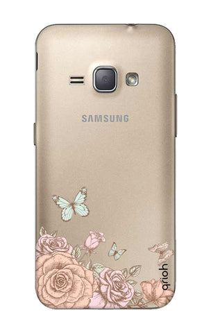 Flower And Butterfly Samsung J1 2016 Cases & Covers Online