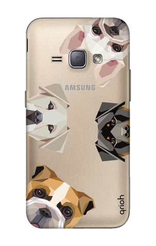 Geometric Dogs Samsung J1 2016 Cases & Covers Online