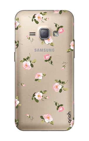 Pink Rose All Over Samsung J1 2016 Cases & Covers Online