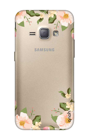 Flower In Corner Samsung J1 2016 Cases & Covers Online