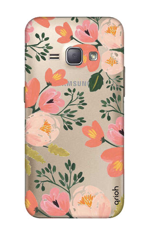 Painted Flora Samsung J1 2016 Cases & Covers Online