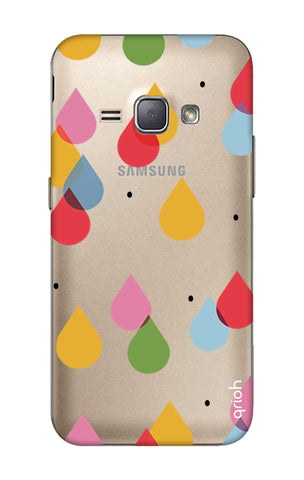Colourful Drops Samsung J1 2016 Cases & Covers Online