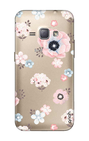 Beautiful White Floral Samsung J1 2016 Cases & Covers Online