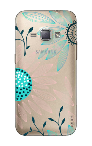 Pink And Blue Petals Samsung J1 2016 Cases & Covers Online