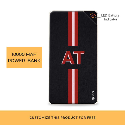 Animated Text Customized Power Bank
