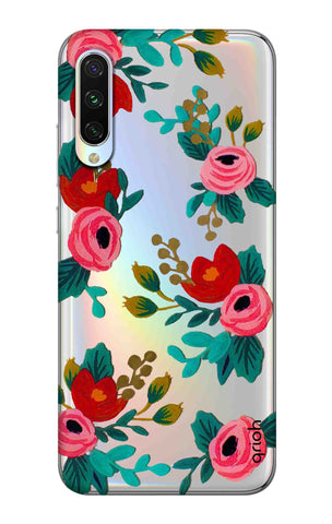 Red Floral Xiaomi Mi A3 Cases & Covers Online