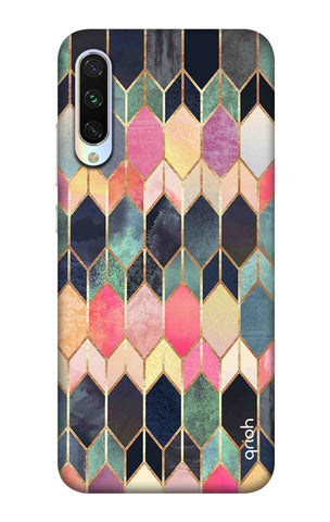 Colourful Brick Pattern Case Xiaomi Mi CC9e Cases & Covers Online