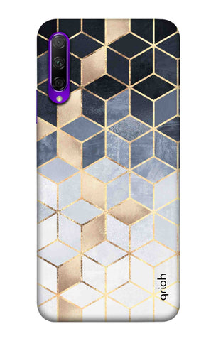 Cubical Pattern Case Honor 9X Pro Cases & Covers Online