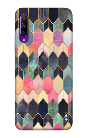 Colourful Brick Pattern Case Honor 9X Pro Cases & Covers Online
