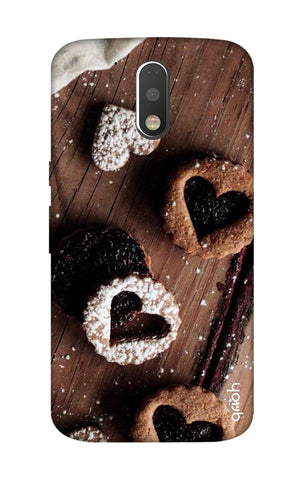 Heart Cookies Motorola Moto G4 Plus Cases & Covers Online
