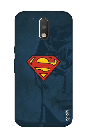 Wild Blue Superman Motorola Moto G4 Plus Cases & Covers Online