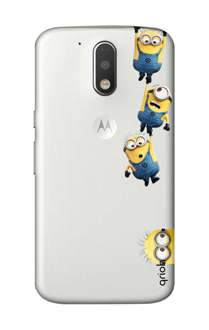 Falling Minions Motorola Moto G4 Plus Cases & Covers Online