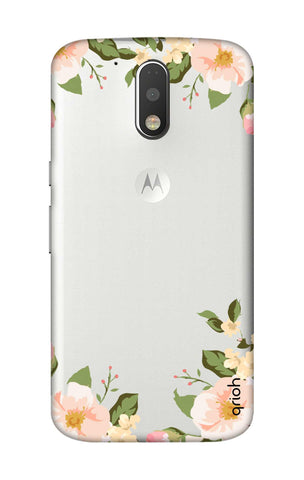 Flower In Corner Motorola Moto G4 Plus Cases & Covers Online