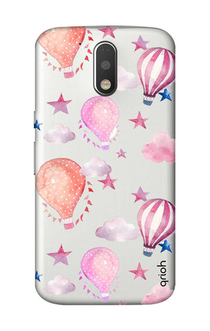 Flying Balloons Motorola Moto G4 Plus Cases & Covers Online