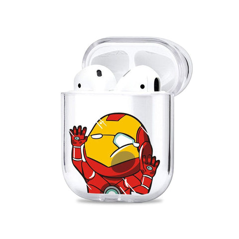 Iron Wall Bump Airpods Cover - Flat 35% Off On Airpods Covers