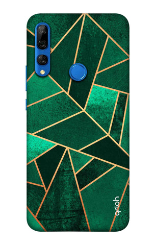 Emerald Tiles Case Huawei Y9 Prime 2019 Cases & Covers Online