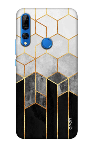 Tricolor Pattern Case Huawei Y9 Prime 2019 Cases & Covers Online