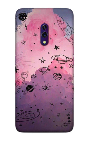 Space Doodles Art Oppo K3 Cases & Covers Online