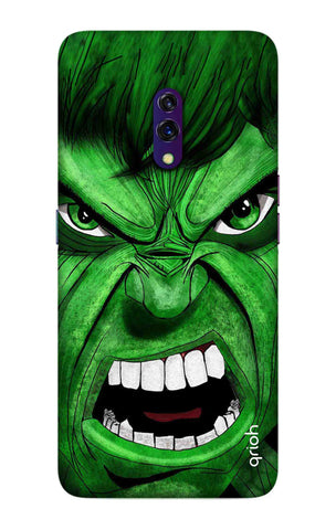 Angry Man Case Oppo K3 Cases & Covers Online