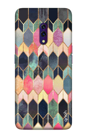 Colorful Brick Pattern Case Oppo K3 Cases & Covers Online