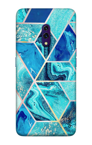 Aquatic Tiles Case Oppo K3 Cases & Covers Online