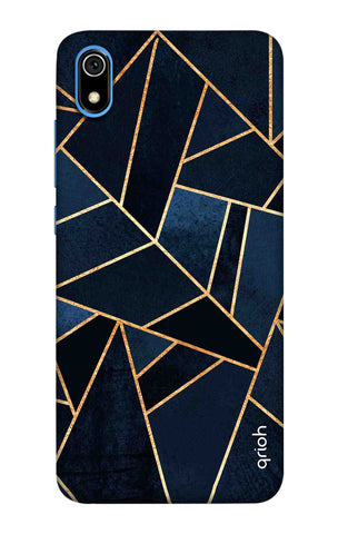 Abstract Navy Redmi 7A Cases & Covers Online