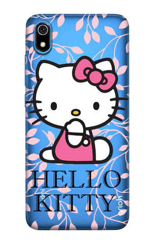 Hello Kitty Floral Redmi 7A Cases & Covers Online