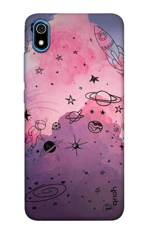 Space Doodles Art Redmi 7A Cases & Covers Online