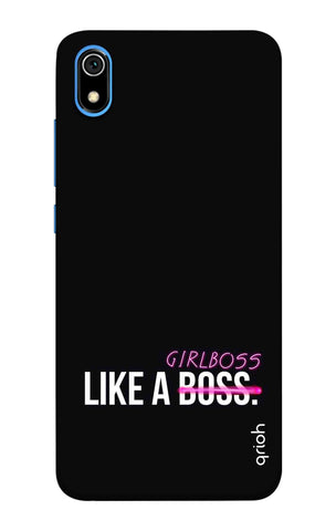 Like A Girl Boss Redmi 7A Cases & Covers Online