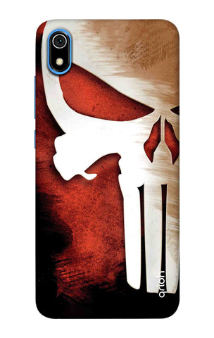 Red Skull Case Redmi 7A Cases & Covers Online