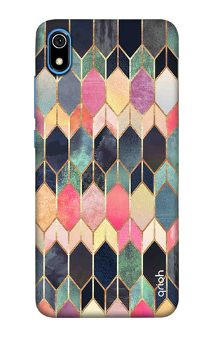 Colorful Brick Pattern Case Redmi 7A Cases & Covers Online