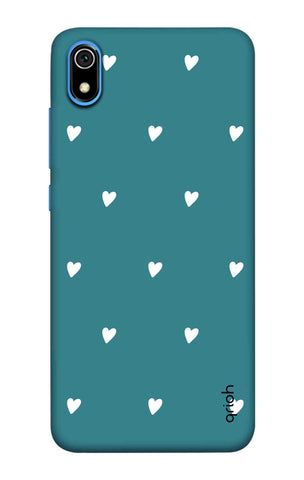 Mini White Hearts Case Redmi 7A Cases & Covers Online