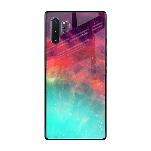 Colorful Aura Samsung Galaxy Note 10 Plus Glass Cases & Covers Online