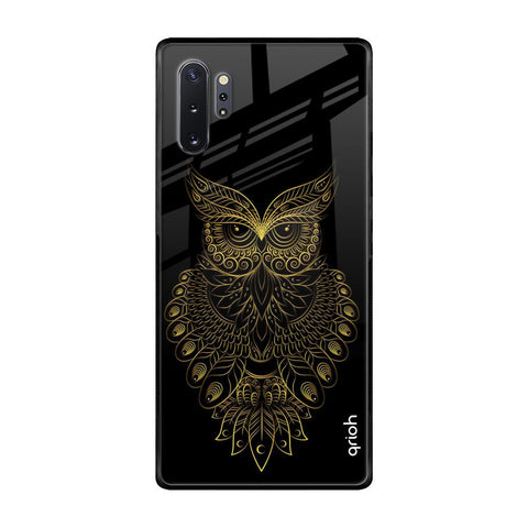 Golden Owl Samsung Galaxy Note 10 Plus Glass Cases & Covers Online
