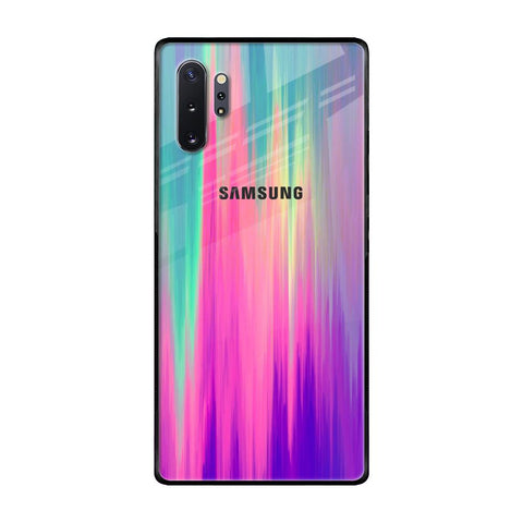 Vibrant Strokes Samsung Galaxy Note 10 Plus Glass Cases & Covers Online