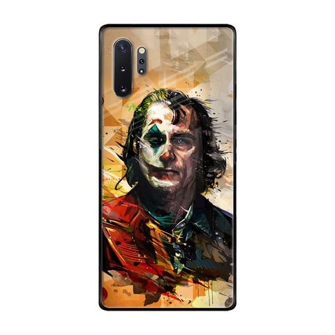 Psycho Villain Samsung Galaxy Note 10 Plus Glass Cases & Covers Online