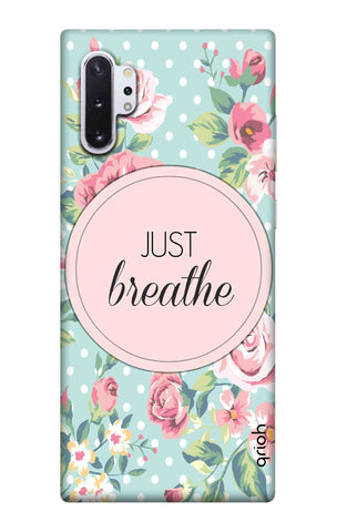 Vintage Just Breathe Samsung Galaxy Note 10 Plus Cases & Covers Online