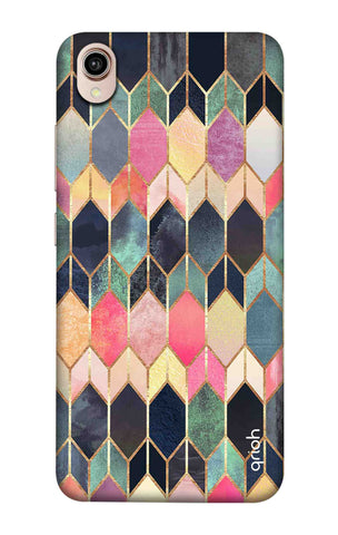 Colorful Brick Pattern Case Vivo Y90 Cases & Covers Online