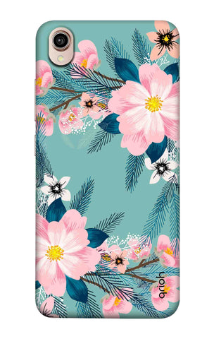 Graceful Floral Case Vivo Y90 Cases & Covers Online