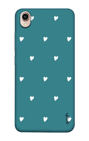 Mini White Hearts Case Vivo Y90 Cases & Covers Online