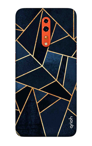 Abstract Navy Oppo Reno Z Cases & Covers Online