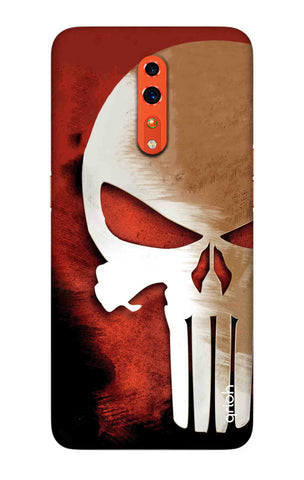 Red Skull Case Oppo Reno Z Cases & Covers Online
