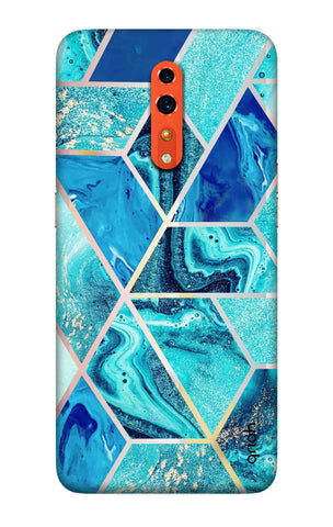Aquatic Tiles Case Oppo Reno Z Cases & Covers Online