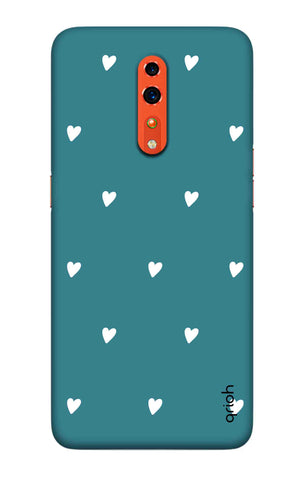 Mini White Hearts Case Oppo Reno Z Cases & Covers Online
