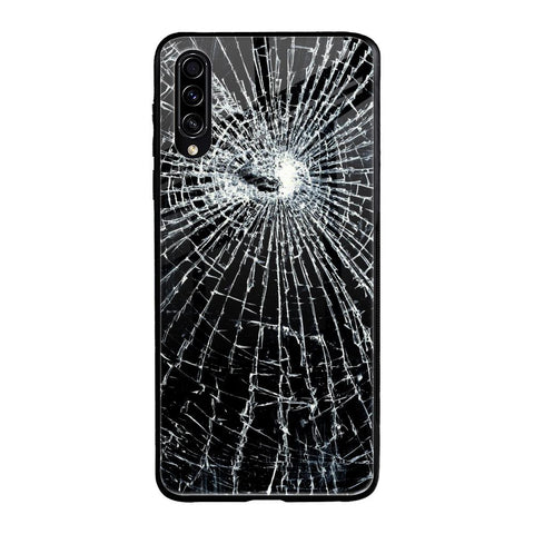 Cracked Design Samsung Galaxy A30s Glass Cases & Covers Online