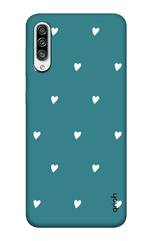 Mini White Hearts Case Samsung Galaxy A30s Cases & Covers Online