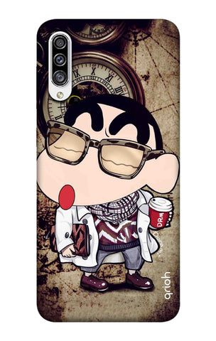 Nerdy Shinchan Samsung Galaxy A50s Cases & Covers Online