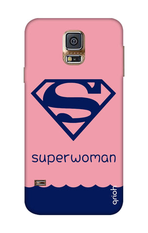 Be a Superwoman Samsung S5 Cases & Covers Online